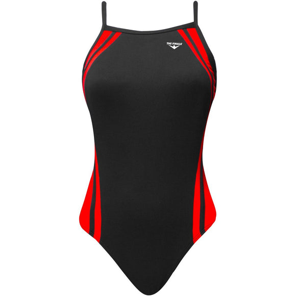 TYR/FINALS Reactor Splice Butterflyback (Thin Strap) (Red/Black)_RSD