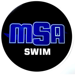 "MSA Car Magnet (6"" Circle)"