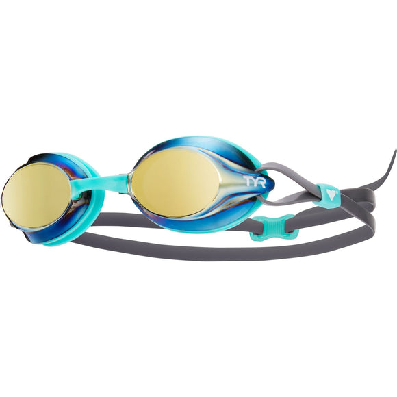 TYR Velocity Mirrored Goggle (3 Available Colors)