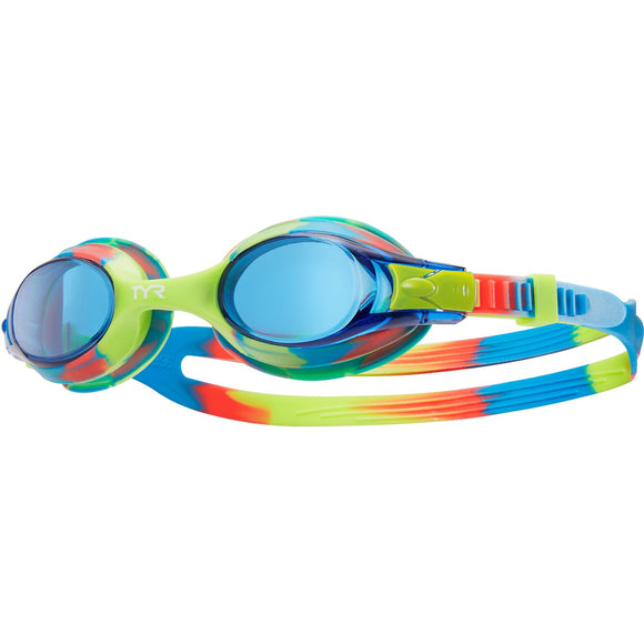 TYR Swimple Tie Dye Kids' Goggle (8 Available Colors)
