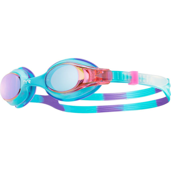 TYR Swimples Tie Dye Mirrored Goggle (4 Available Colors)