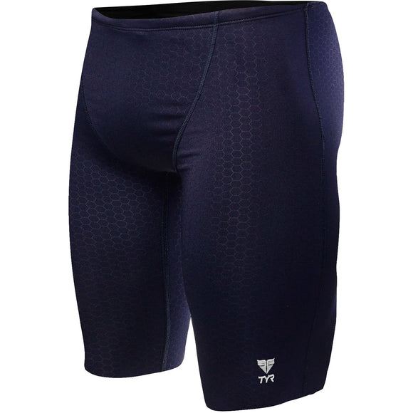 TYR - Hexa Jammer (Solid Navy w/embroidered team logo)_MCHS