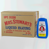 Case of 12 8oz bottles of Mrs Stewart's Bluing