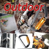 6Pcs Outdoor Safety Buckle With Lock - Only Hiking