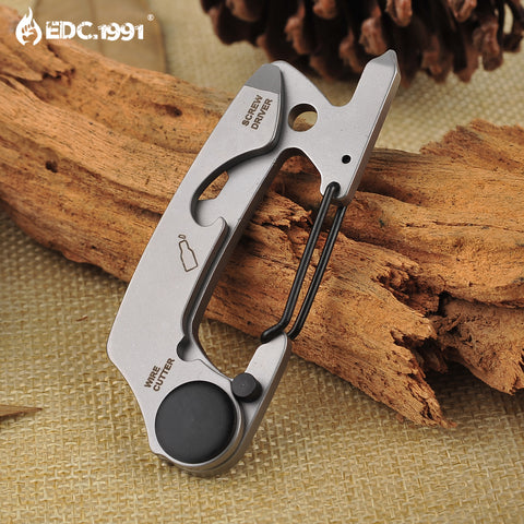 Stainless Steel Key Chain Multi Tool - Only Hiking