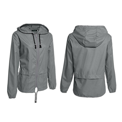 Waterproof Rain Jacket - Only Hiking