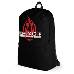 Rising Dragon Black Backpack