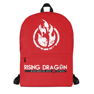 Rising Dragon Red Backpack