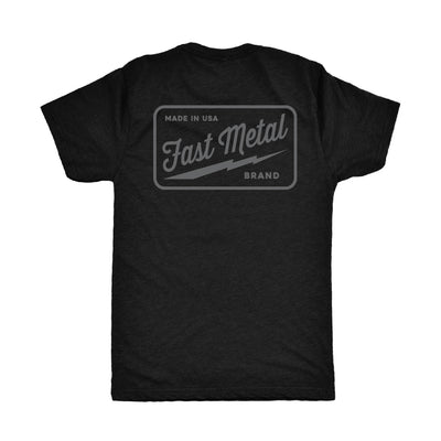 Bolt T-Shirt - Black/Grey
