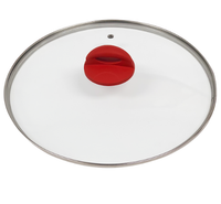 Durable Thermo-Vented Glass Lid