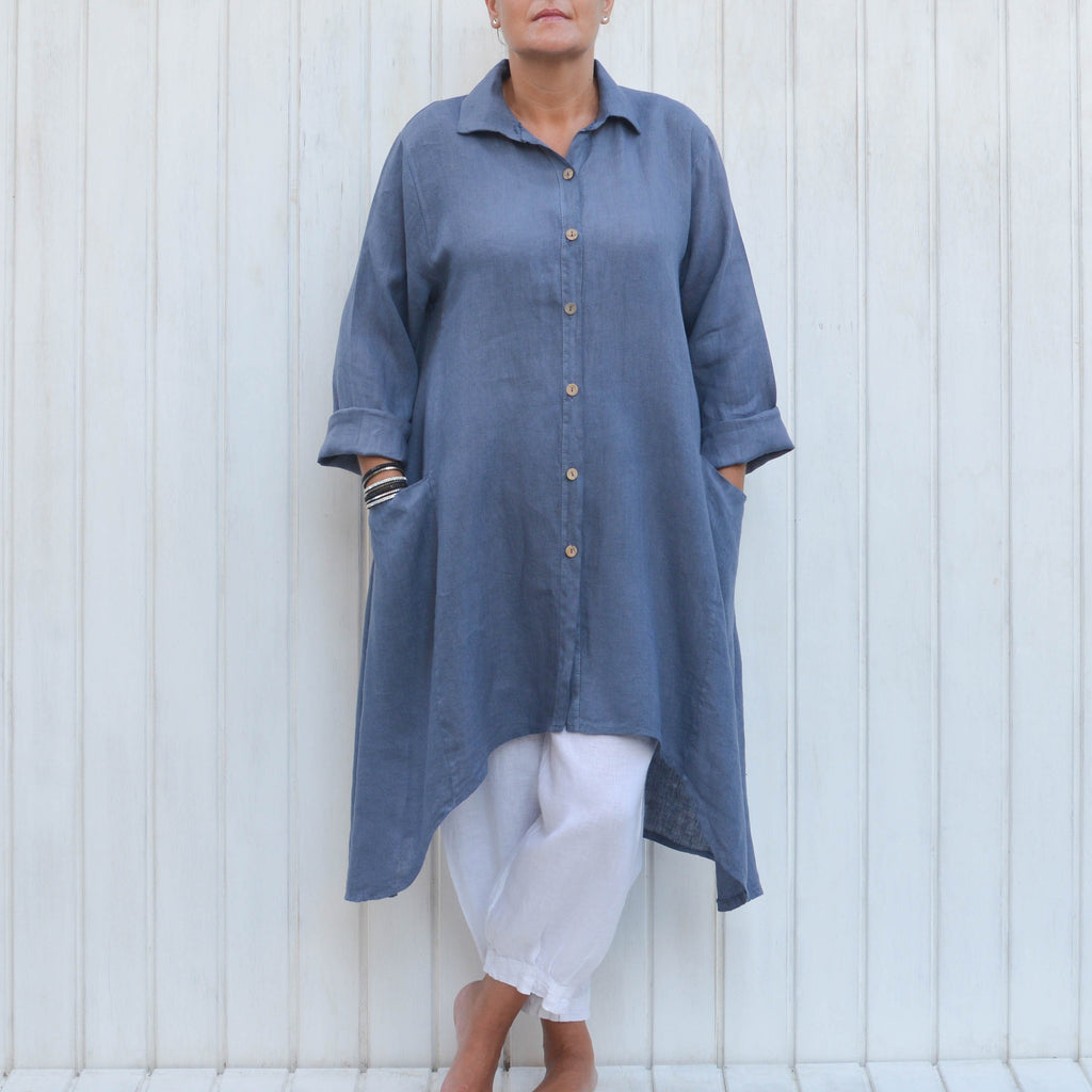 Plus Size Linen Clothing - Free Shipping To USA – Pure Plus ...