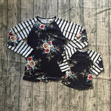 Midnight Floral Patch Tee (Child)