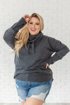Mineral Basin Cowl Neck Pullover- Plus