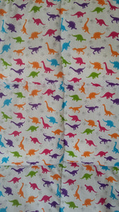 4-10Ib Dinosour single bed size weighted blanket