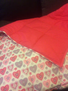 "4-8Ib autism weighted blanket 38"" by 41"""