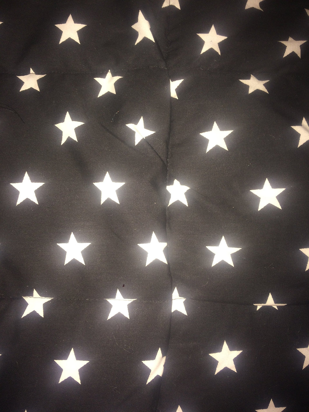4-8Ib black and white stars weighted blanket 42
