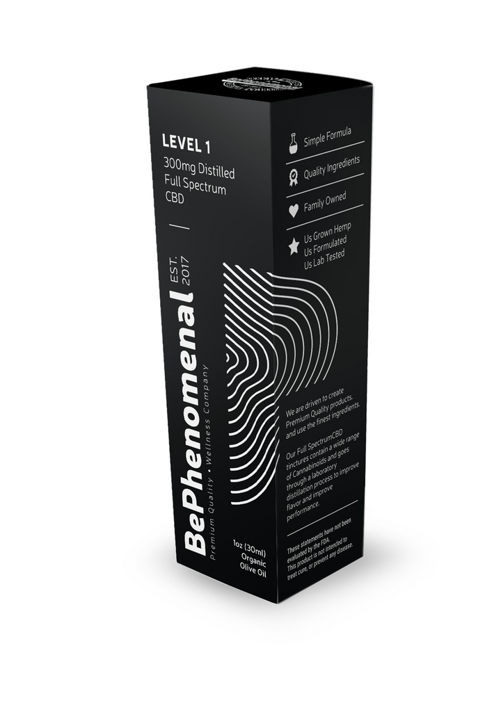 LEVEL 1 DISTILLED Full Spectrum Tincture