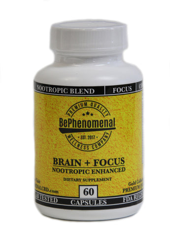 Brain + Focus | Nootropic Enhancement