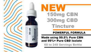 !!NEW PRODUCT!! CBN + CBD Tincture (150mg CBN/300mg CBD Per Bottle) MCT Coconut Oil