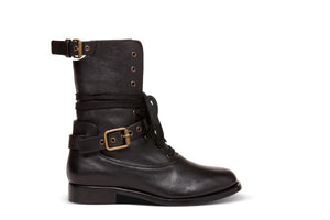 Uffizimoda - Chloe flap down combat boot Chloe fashion designer