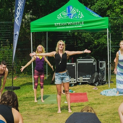 YOGA WITH TANIA (Elora, ON) at Riverfest 2019