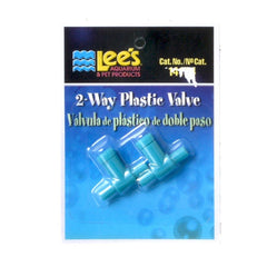 2 Way Plastic Valve