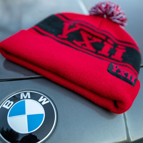 vxii v12 lifestyle mens beanies maglia rossa bmw hood