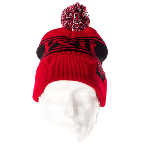 Image of vxii v12 lifestyle mens beanies maglia rossa