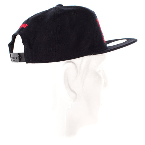Image of vxii v12 lifestyle mens hats rosso fantastico back angle