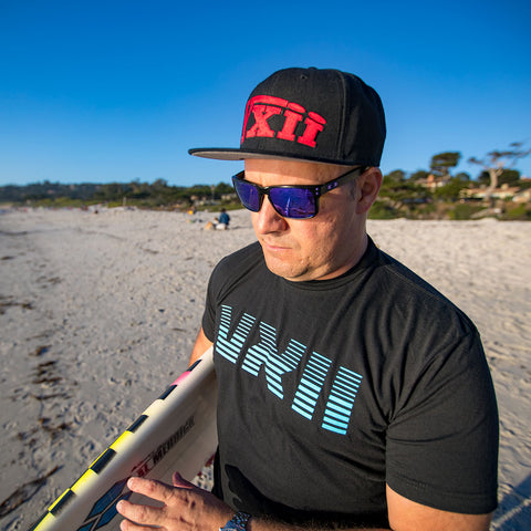 Image of vxii v12 lifestyle mens hats rosso fantastico fredman beach