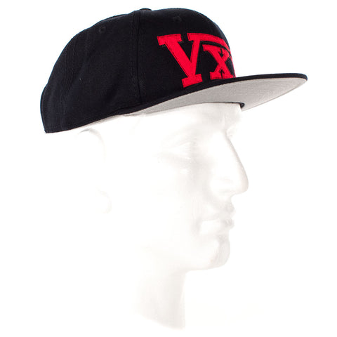 Image of vxii v12 lifestyle mens hats rosso fantastico side