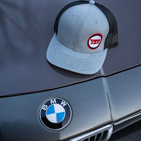 Image of vxii v12 lifestyle mens hats trucker tim bmw hood