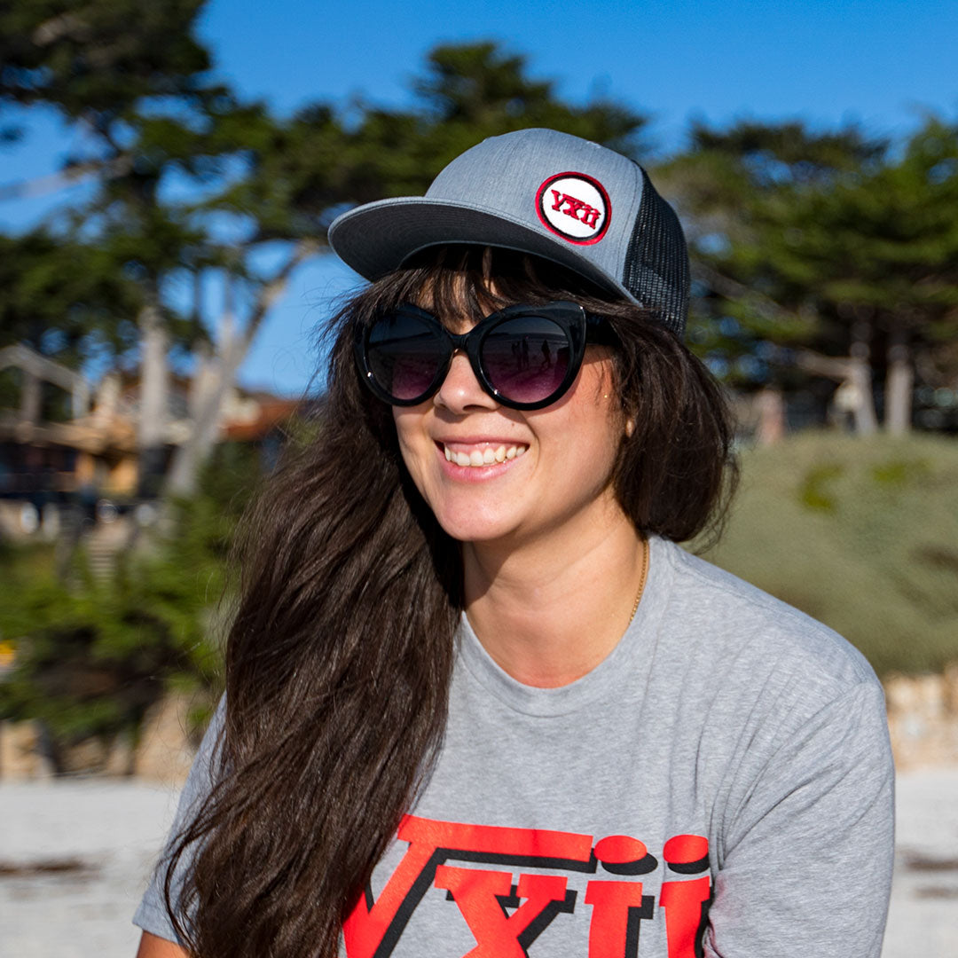 vxii v12 lifestyle mens hats trucker tim chilling at the beach