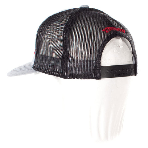 Image of vxii v12 lifestyle mens hats trucker tim back angle