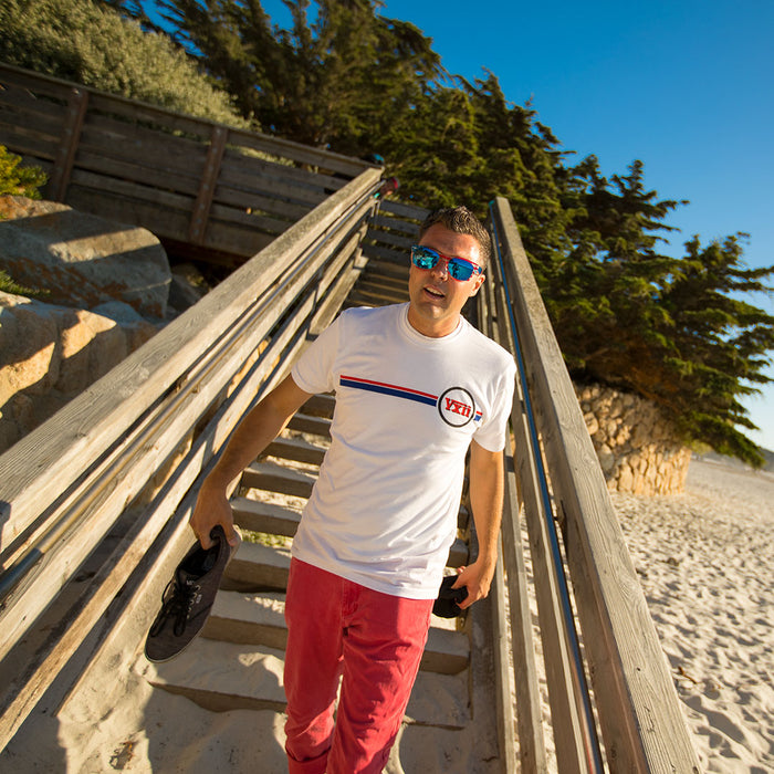 vxii v12 lifestyle mens tshirt the burke at the beach