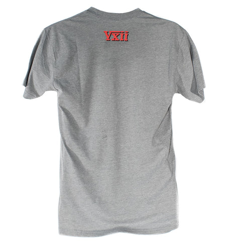 Image of vxii v12 lifestyle mens tshirts rosso di mosto back