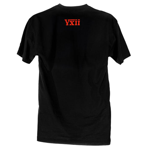 Image of vxii v12 lifestyle mens tshirts t1000 back