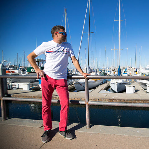 Image of vxii v12 lifestyle mens tshirts the burke at the docks