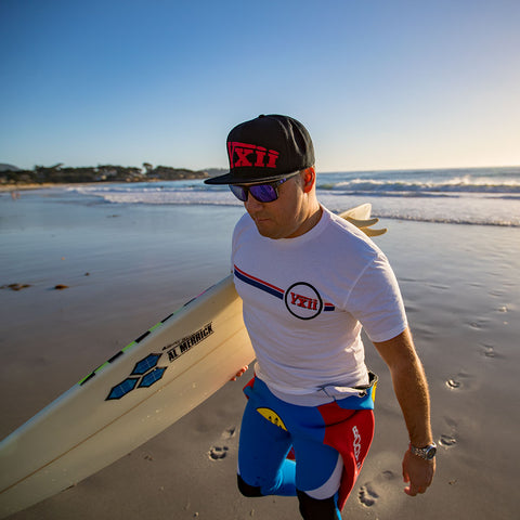 Image of vxii v12 lifestyle mens tshirts the burke surfing