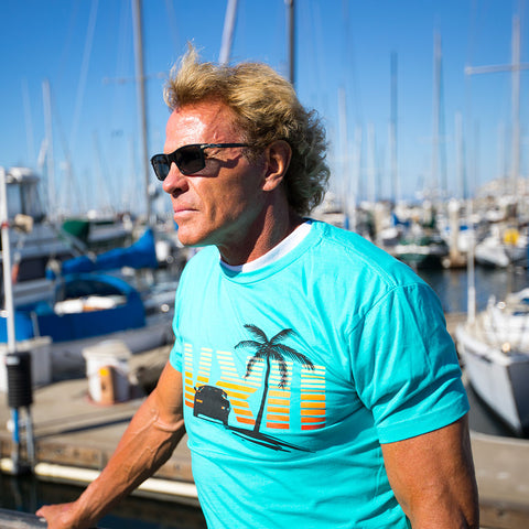 Image of vxii v12 lifestyle mens tshirts the fred man boat docks