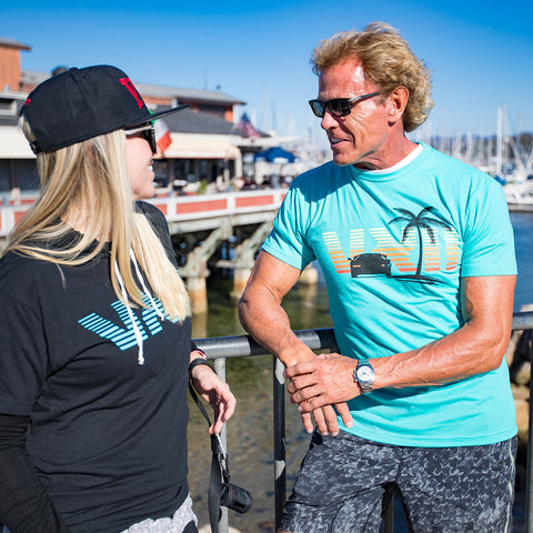Image of vxii v12 lifestyle mens tshirts the fred man burton pier