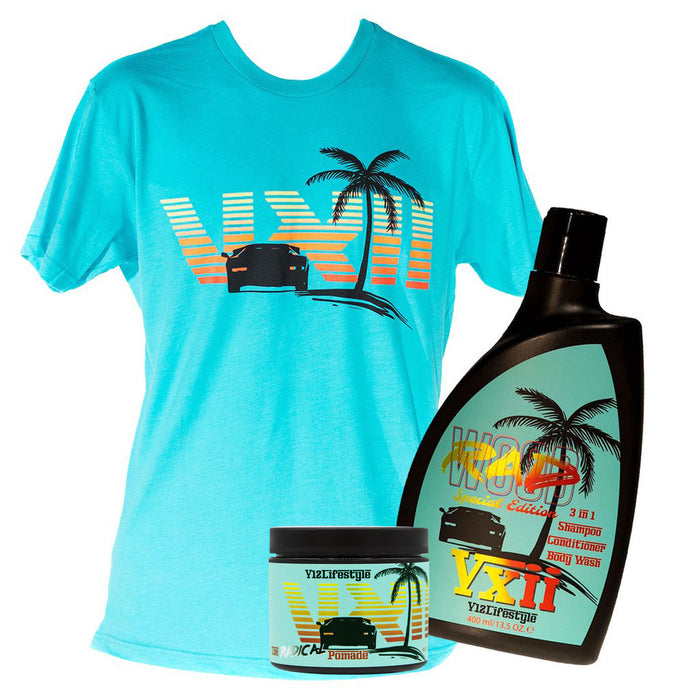 Rad Combo | Pomade, 3 in 1, T-shirt