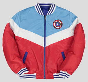 CAPITÁN AMÉRICA BOMBER JACKET MUJER