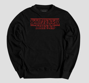 STRANGER THINGS LOGO PULLOVER