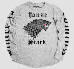 HOUSE STARK MANGA LARGA