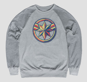 CAPTAIN MARVEL LOGO PULLOVER