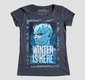 WINTER IS HERE MUJER