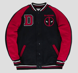 DEADPOOL VARSITY JACKET
