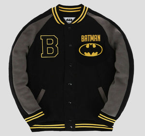 BATMAN VARSITY JACKET