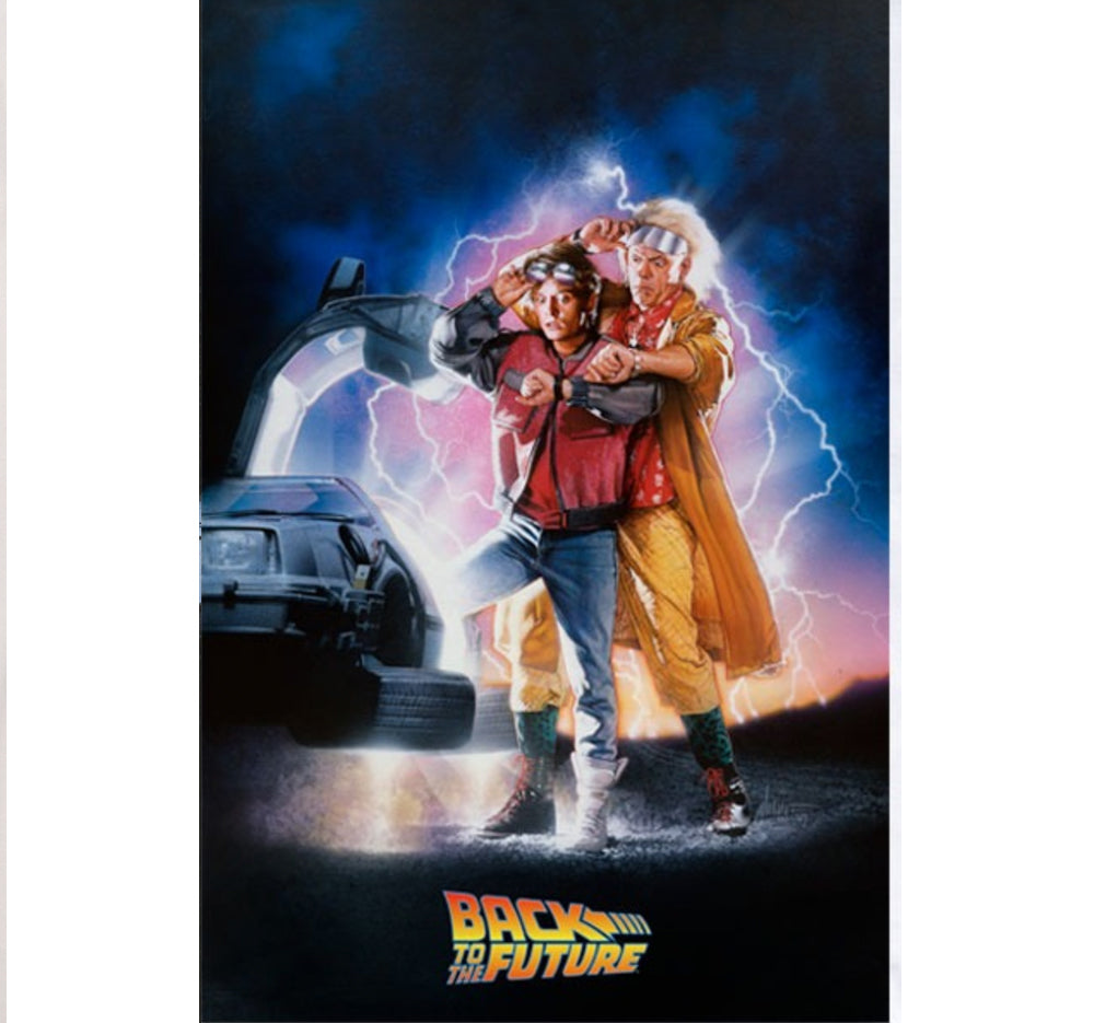 BACK TO THE FUTURE PÓSTER